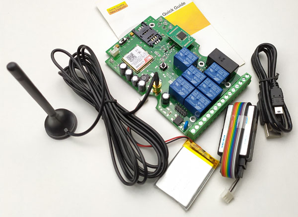 GSM-RELAY Control board (No box) Post Airmail Free shipping